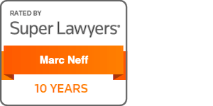 Super Lawyers - Marc Neff - 10 Years